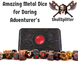 skull-splitter metal dice