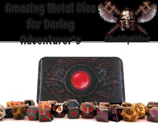 skull-splitter metal dice