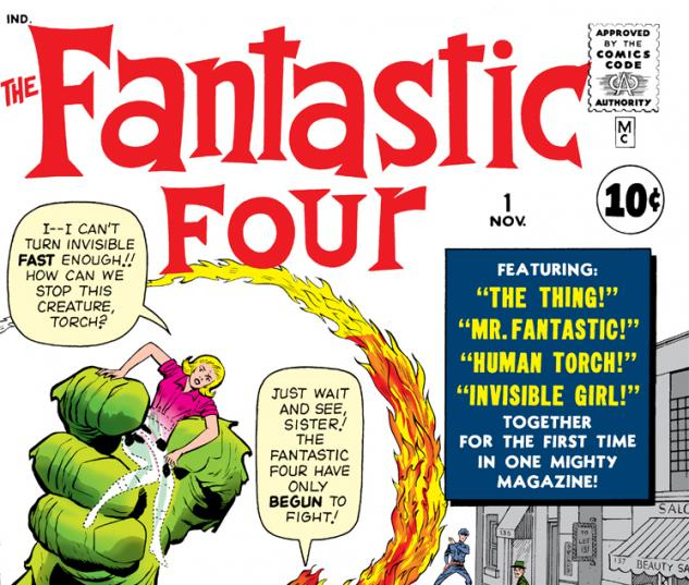 Fantastic Four Issue #1 Photo Credit: Marvel