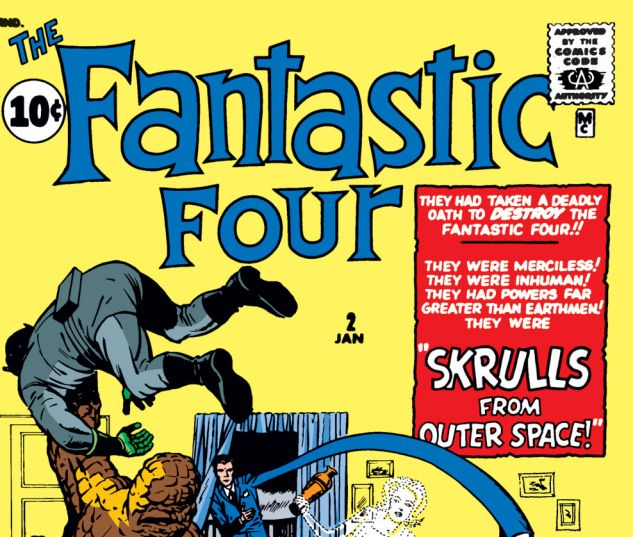 Fantastic Four Issue #2, Photo Credit: Marvel