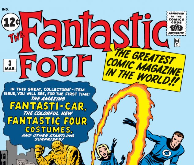 Fantastic Four Issue #3, Photo Credit: Marvel