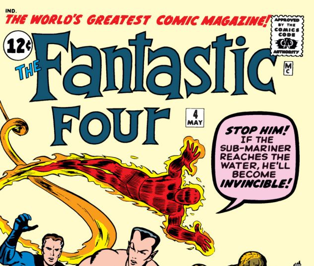 Fantastic Four Issue #4, Photo Credit: Marvel