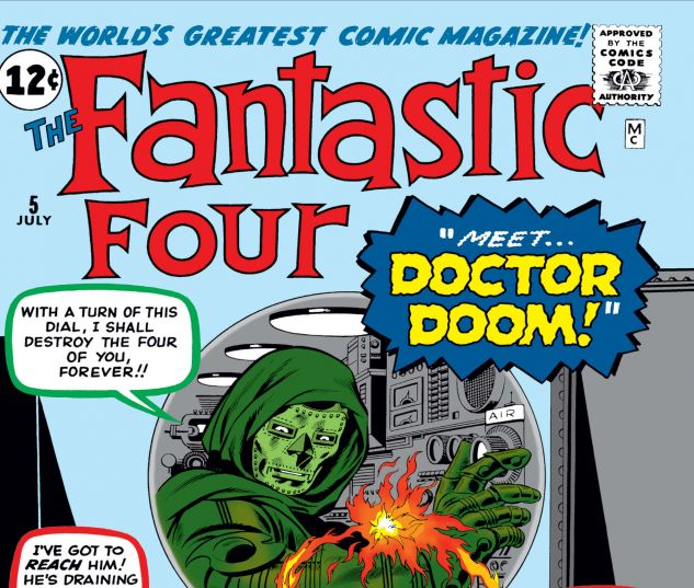 The Fantastic Four Issue #5, Photo Credit: Marvel
