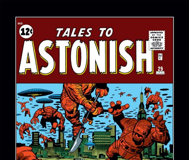 Tales to Astonish Issue 29, Photo Credit: Marvel