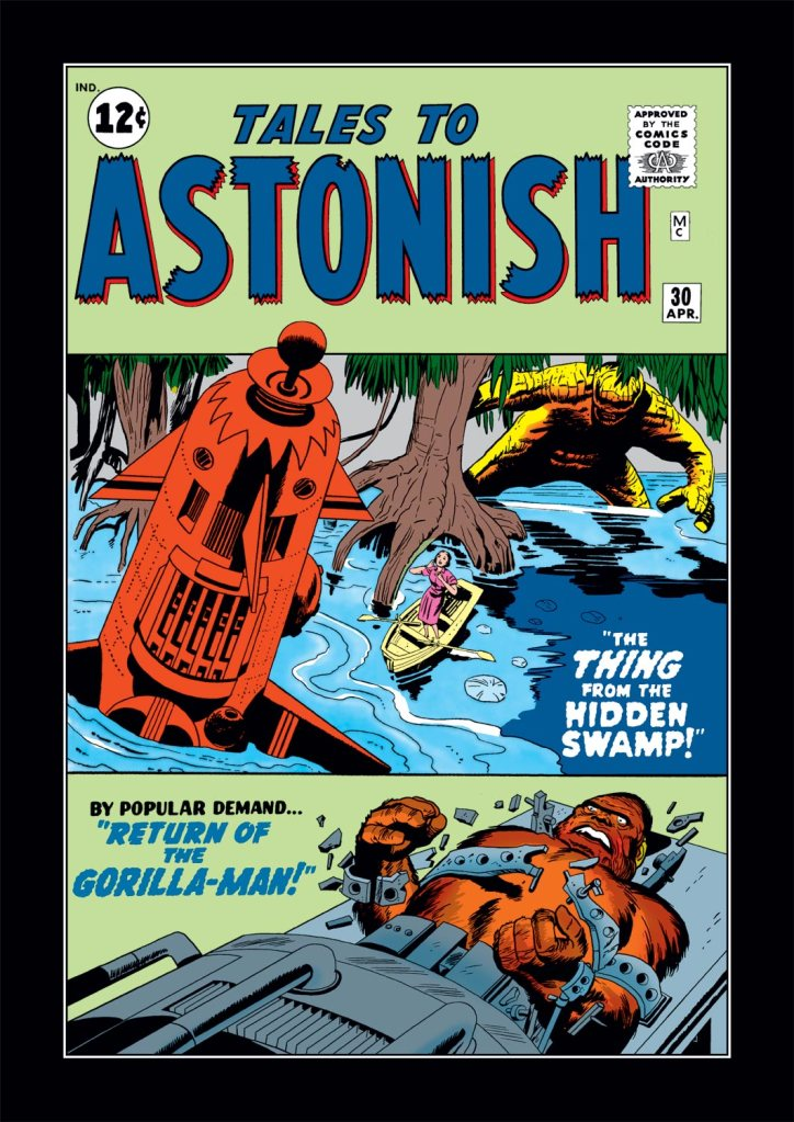 Tales to Astonish Issue #30, Photo Credit: Marvel